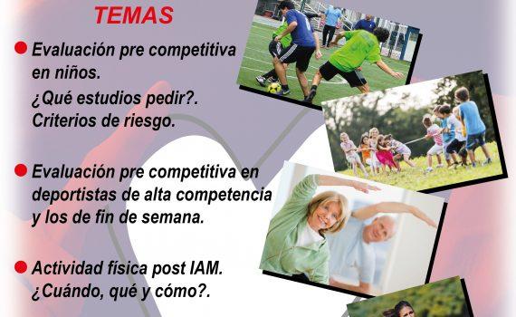 Sesion Cientifica: Corazón y Deporte - Evaluación Pre Competitiva