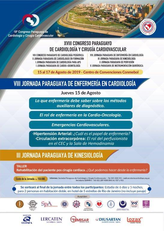 VIII Jornada Paraguaya de Enfermeria en Cardiologia